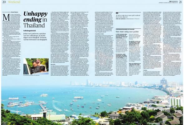 Unhappy Ending in Thailand (NRC, 31 januari)